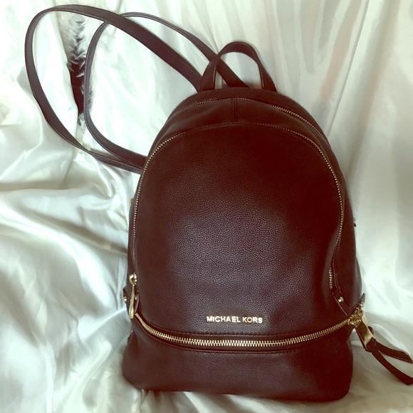 Michael Kors Handbags - *MK VALUE BUNDLE* Rhea Backpack & Jet Set Wristlet